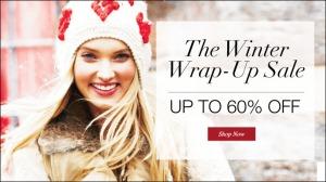 winter wrap up sale